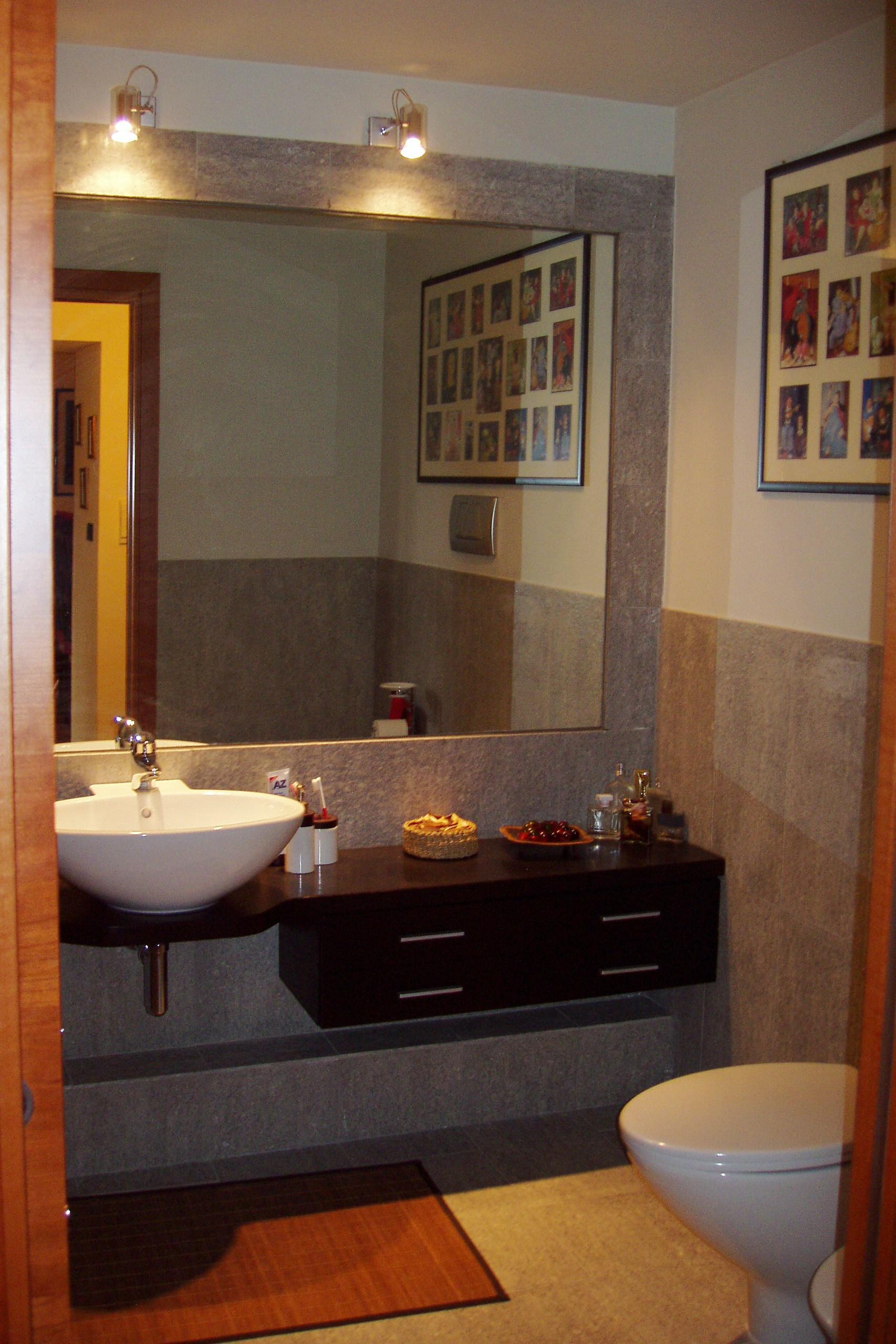 Il senso del nostro lavoro aifaicasa - Specchio con lampade intorno ...